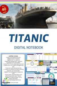 Titanic Digital Notebook