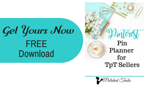 Free Download Pinterest Pin Planner for TpT Sellers