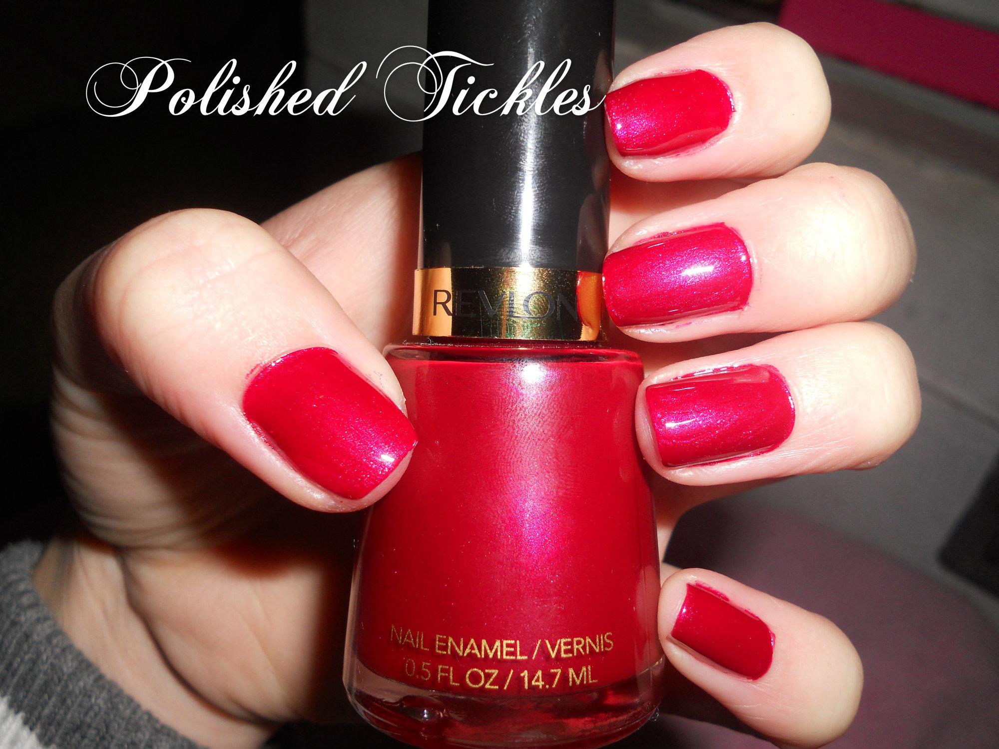 Revlon Valentine Nail Polish Nail Ftempo