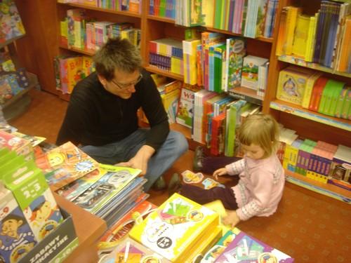Krakow bookstore