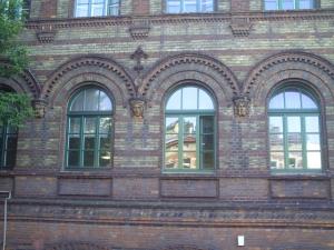 Gothic building Krakow Poland