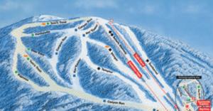 Overview of Connecticut's Ski Sundown Ski Mountain