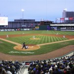 Yard Goats Stadium in Hartford CT