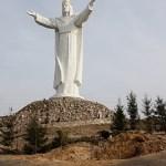The Jesus Statue Near Świebodzin