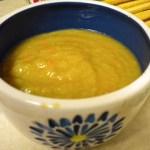 Horseradish soup