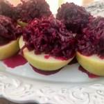Buraczki z Jabłkiem – Apple with Sweet and Sour Beets
