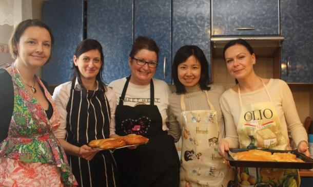 expat women, cooking class, international women, Poznan, bagels