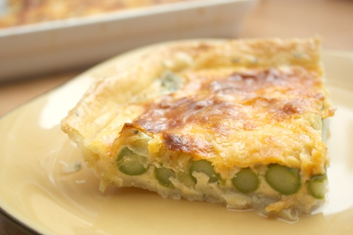 Tarta ze Szparagami or Asparagus Tart, delicious for any meal of the day