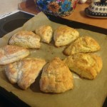 Candied Ginger Scones