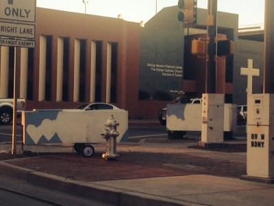 downtown Tucson sleep pods