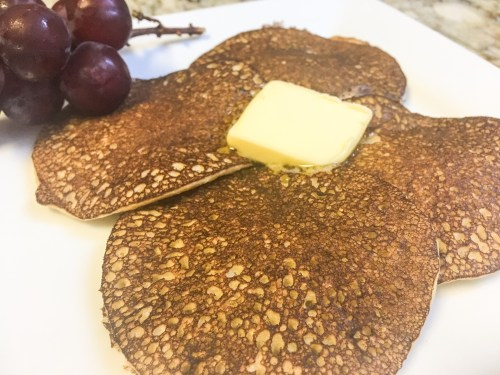 Racuchy, a healthy pancake from Poland with just 3 ingredients!