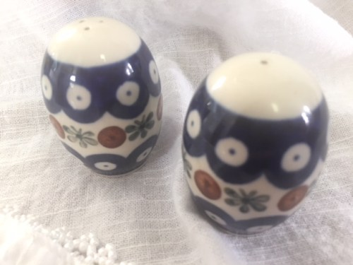 Polish Pottery Salt & Pepper Shakers Giveaway