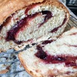 Cranberry Orange Babka or Bakba żurawina z pomarańczą - a wonderful tart sweet yeast bread, perfect for Thanksgiving or Christmas!
