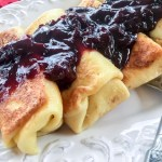 Naleśniki z Serem – Polish Crepes with Cheese