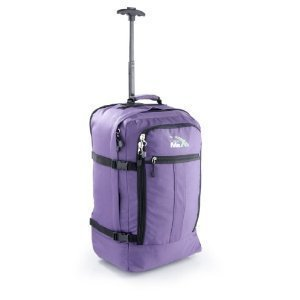 Trolley version in Purple Cabin Max Bag the biggest cabin luggage