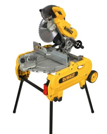 The D27107 from Dewalt, the latest flip over saw