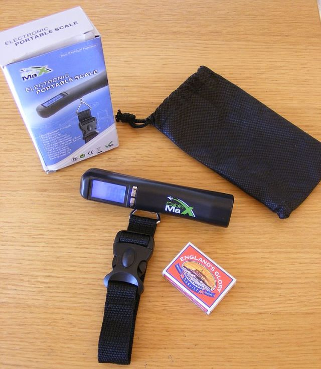 travel scales for luggage from cabin max