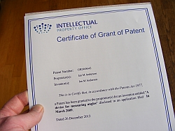 DIY patent application in the UK