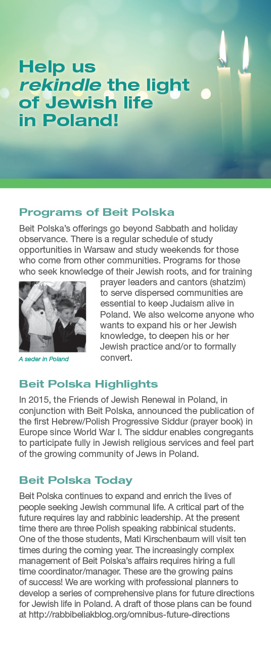 About Beit Polska and Friends of Jewish Renewal in Poland