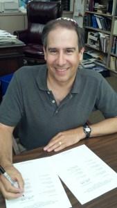 Photo: Declaration signing Rabbi Jonathan Kupetz