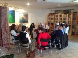 lesson after lunch Shabbat