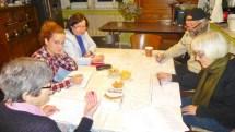 Hebrew class at Beit Warszawa