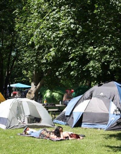 Camping Juwenalia 2008