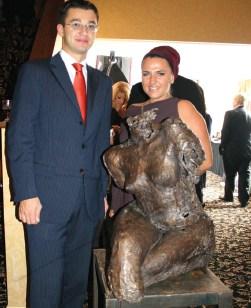Jolanta z Konsulem RP Mariuszem Giborczykiem