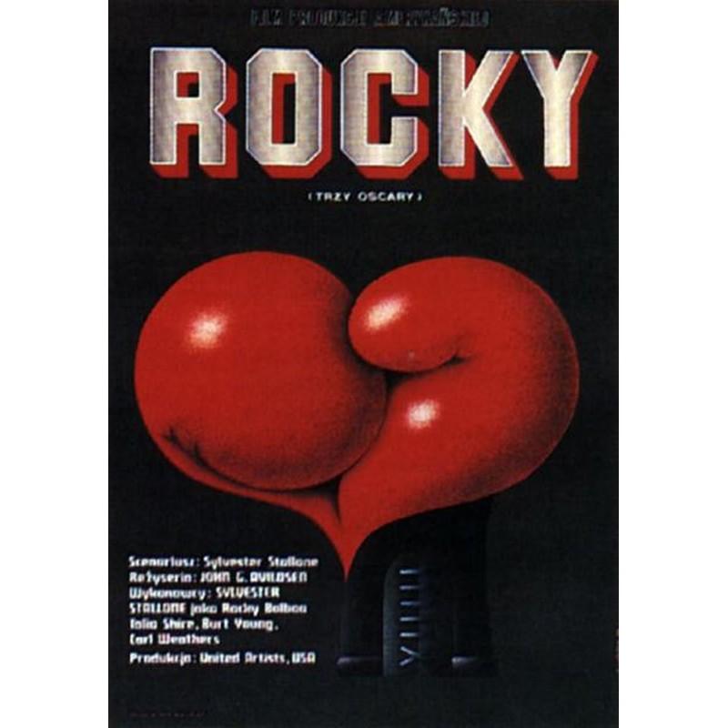 rocky polish movie poster