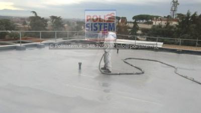 Rifacimento dell'impermeabilizzazione terrazzi sede RAI (4)