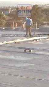 Rifacimento dell'impermeabilizzazione terrazzi sede RAI