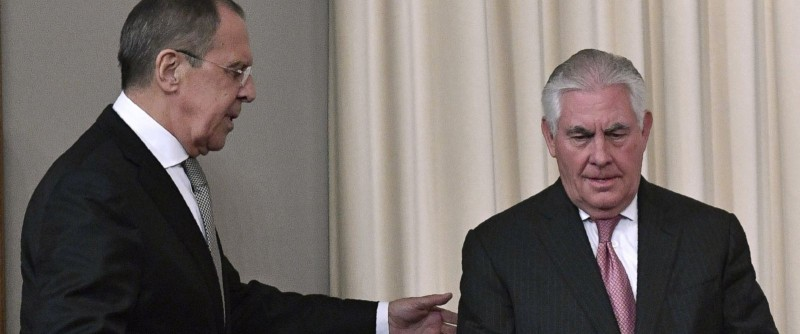 Tillerson meeting with Lavrov