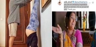 Anushka Sharma Yoga Photo