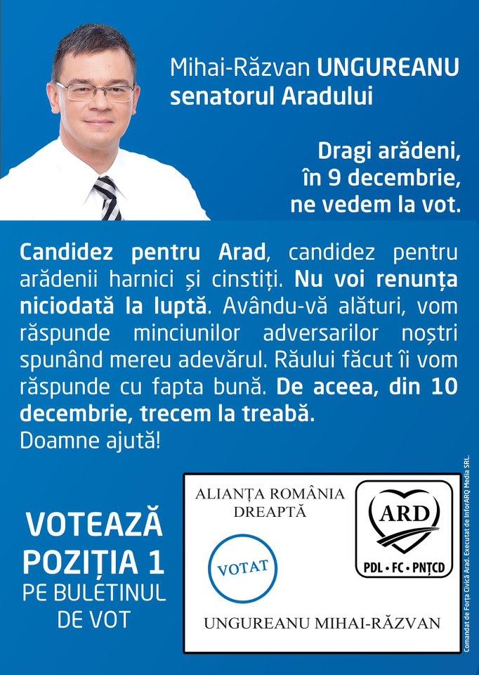 Aliante romania dreapta candidating