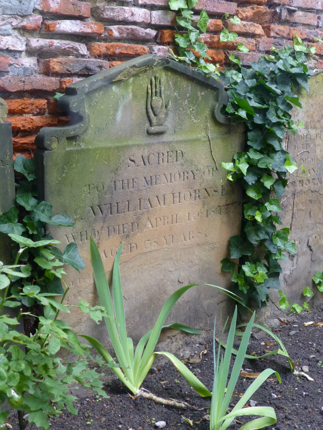 Gazing at a Grave in St Saviour's Parish Church in York