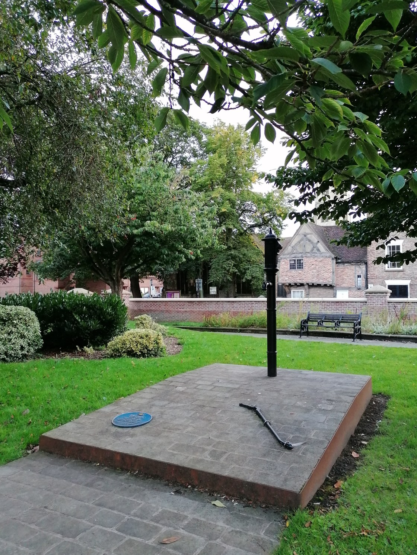 John Snow Memorial North Street Gardens York