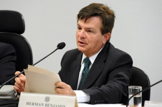 Herman Benjamin, ministro do STJ. Foto: Agência Senado