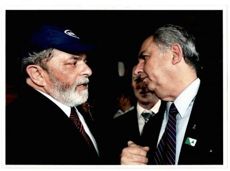 Lula e Bumlai. Foto: Reprodução