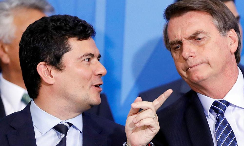 Aprovação de Moro é maior que a de Bolsonaro