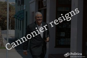 Cannonier Resigns