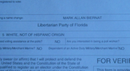 Why I am Libertarian