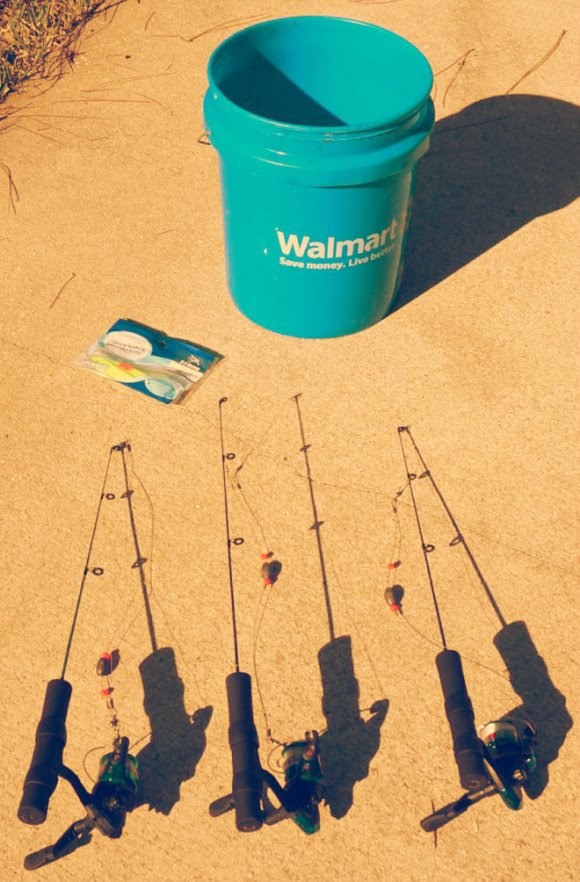 Fishing can give you a lifetime of free food. We also compose what we do not use.