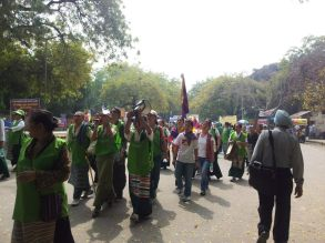 Central and Regional Tibetan Womens Association March