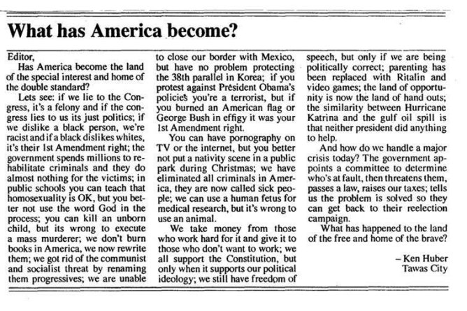 What has America become? - US News & Politics - Political Bullpen