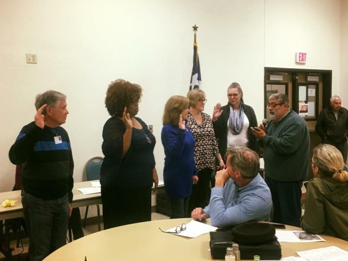 TS 5 Precinct Chair Swearing in Williamson County Dems