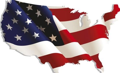America Map Flag elegant american flag usa map outline metal prints frostyourlife 500 X 303 pixels