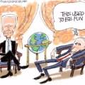 Pat Bagley cartoon Biden Putin summit