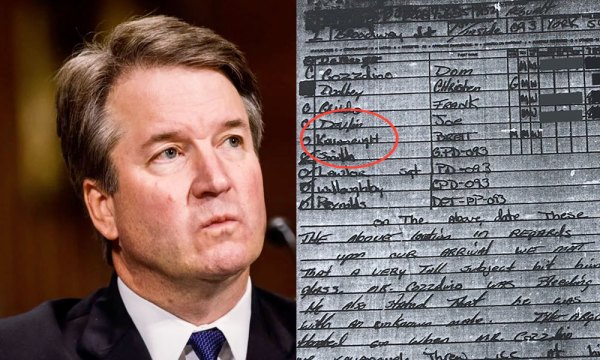 Old Police Report Surfaces And Is Bad News For Brett Kavanaugh