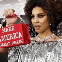 Pro-Trump Singer Wants People to Stop Being Mean to Her Over the 'Build the Wall' Dress She Wore to Grammy's