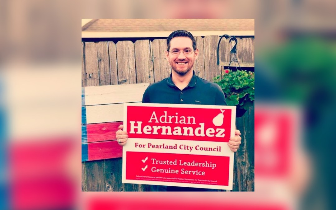 Episode 4: Interview with Adrian Hernandez, Pearland City Council Candidate